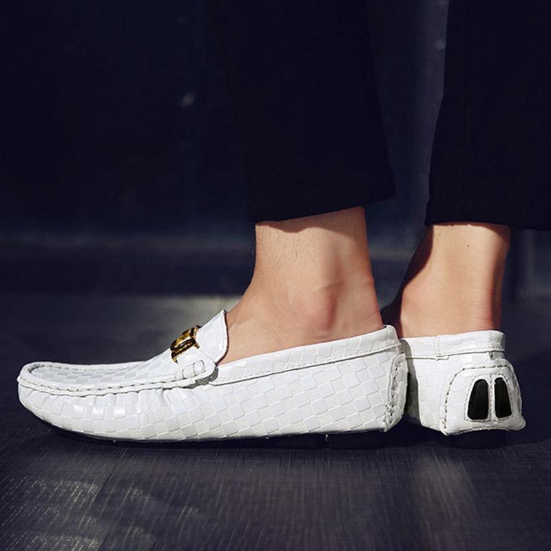 Ericdress Plain Sequin Men's Loafers Shoes