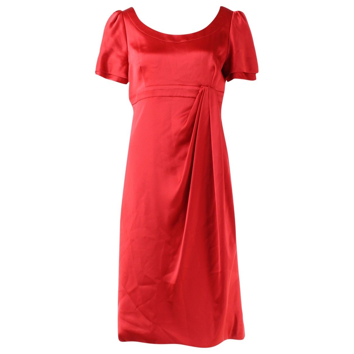 Karen Millen \N Kleid in  Rot Seide