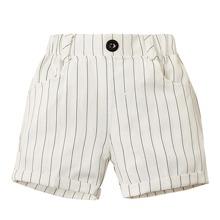 Toddler Boys Striped Rolled Hem Shorts