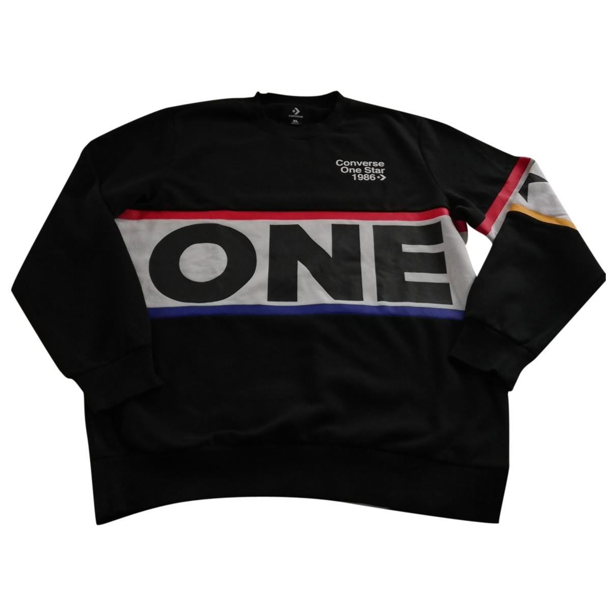 Converse \N Pullover.Westen.Sweatshirts  in  Schwarz Baumwolle