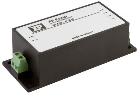 XP Power , 40W AC-DC Converter, 15V dc, Encapsulated