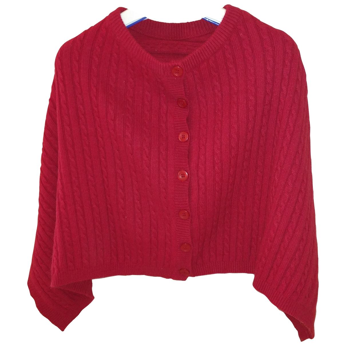 Lauren Ralph Lauren \N Pullover in  Rot Synthetik