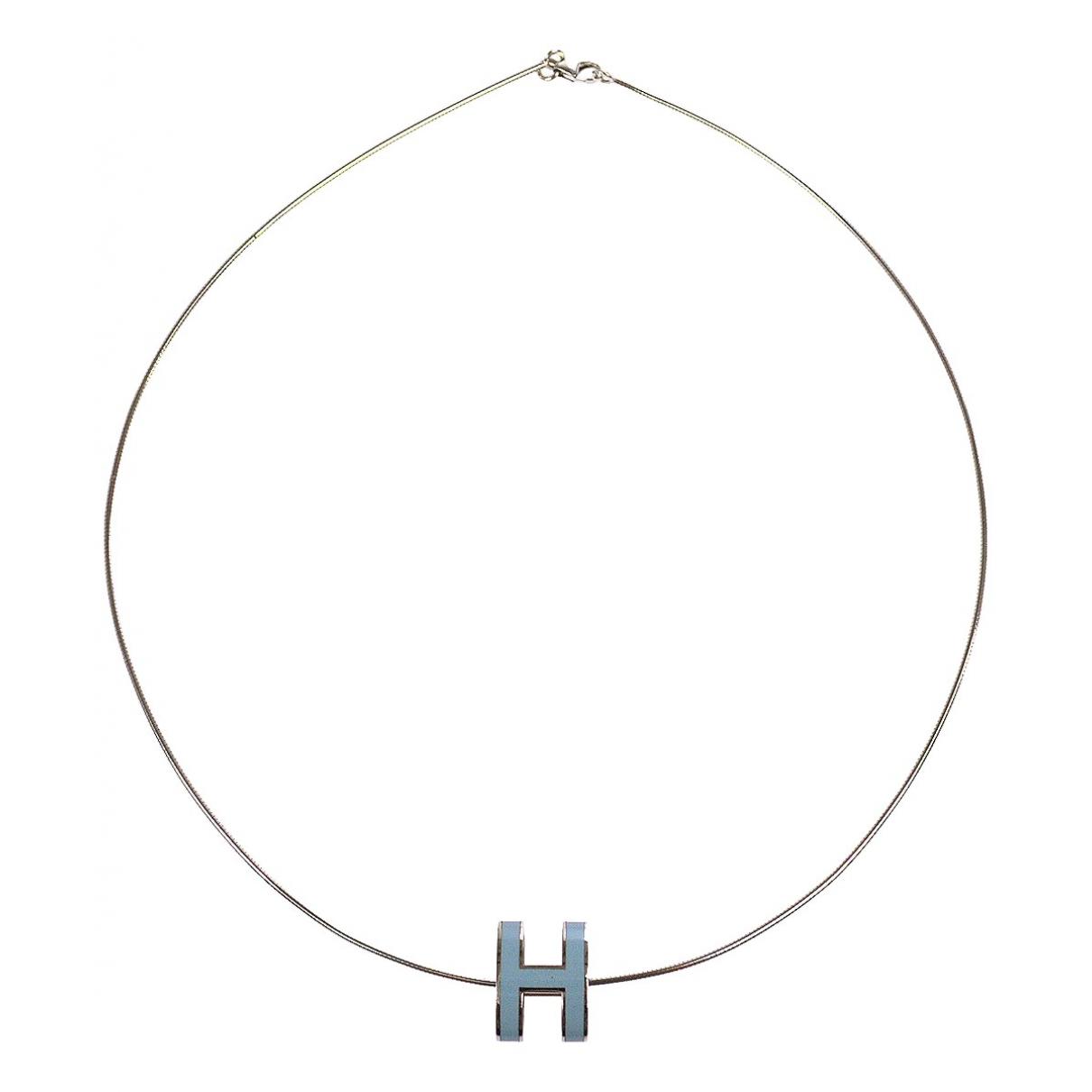 Hermès \N Metal necklace for Women \N