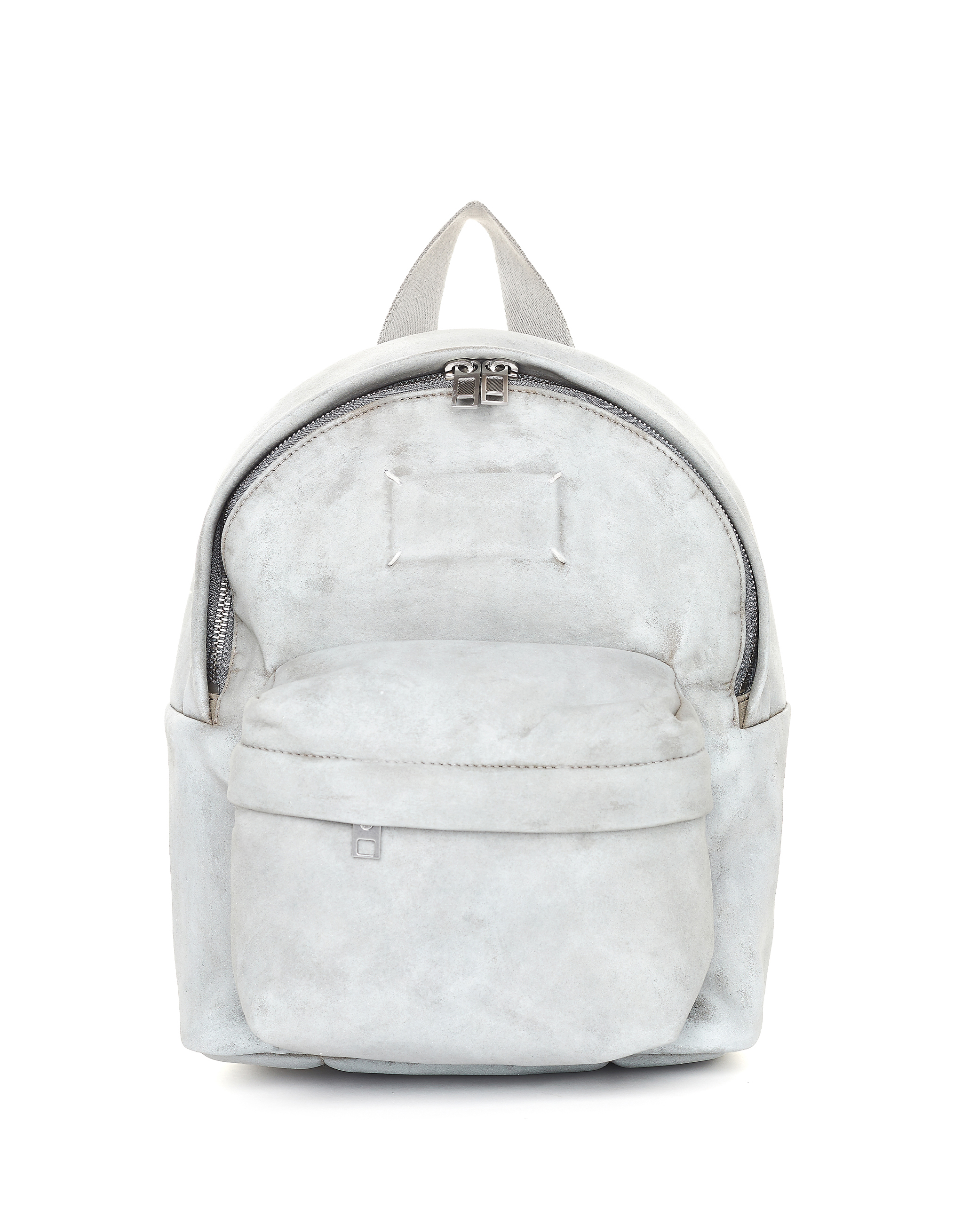 Maison Margiela Painted Microsuede Mini Backpack