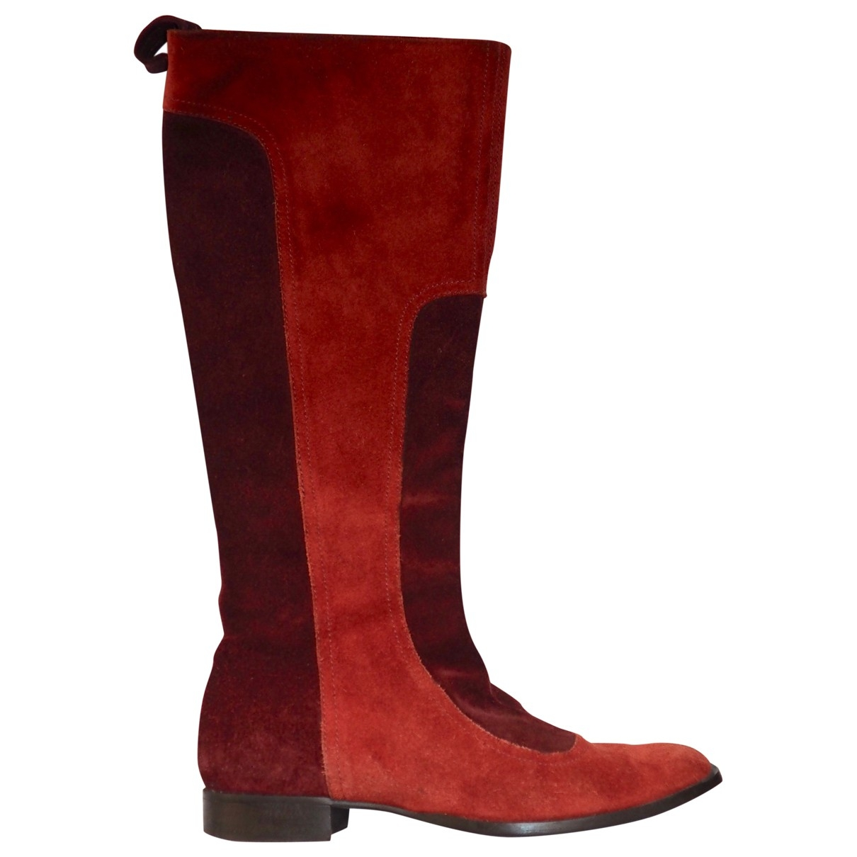 Furla \N Multicolour Suede Boots for Women 36 EU