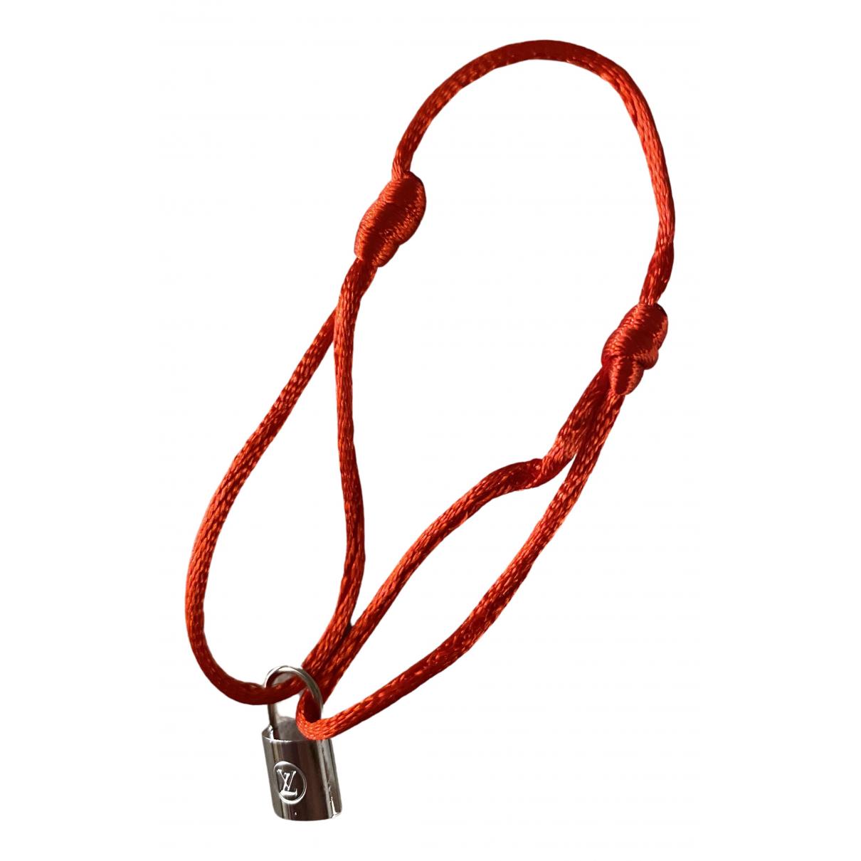 Louis Vuitton - Bracelet   pour femme en argent - rouge