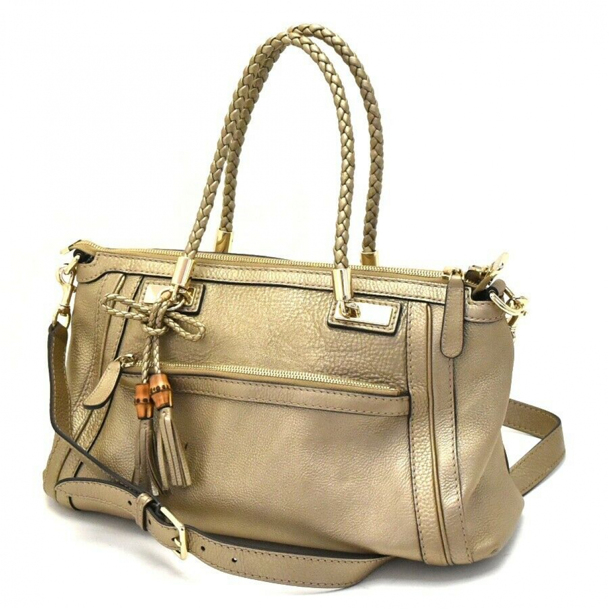 Gucci N Patent leather handbag for Women N