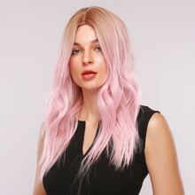 Ombre Curly Long Wig