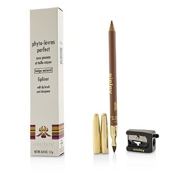 Phyto Levres Perfect Lip Liner With Lip Brush & Sharpener - 02 Beige Naturel