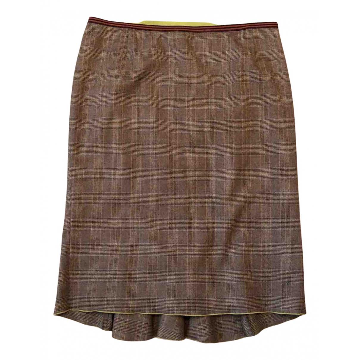 Etro - Jupe   pour femme en laine - multicolore