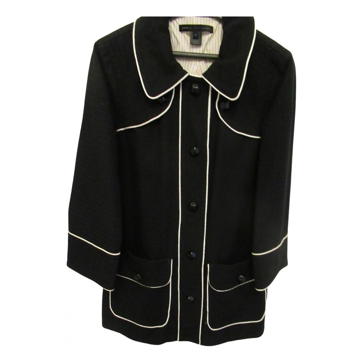 Marc By Marc Jacobs \N Black Cotton coat for Women 40 FR