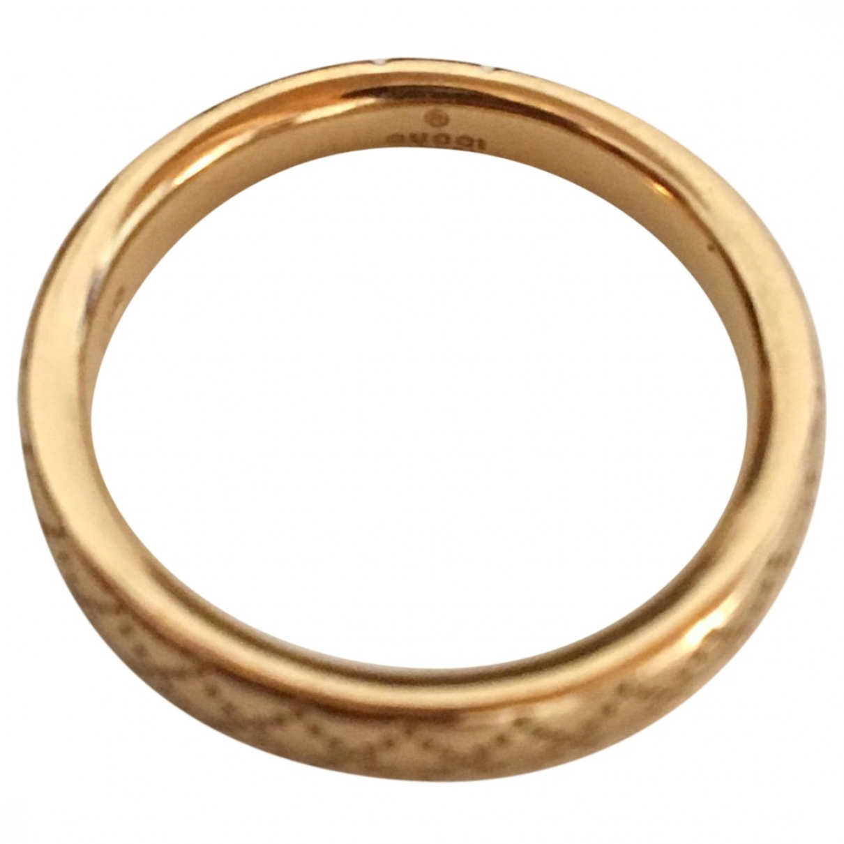 Gucci \N Yellow Yellow gold ring for Women 52 MM