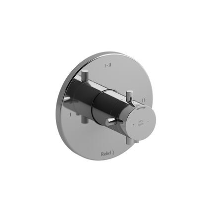Riu RUTM23BN-EX 2-Way Type Thermostatic/Pressure Balance Coaxial Complete Valve Expansion Pex  in Brushed