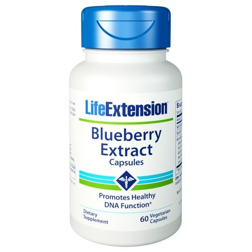 Blueberry Extract Capsules 60 vcaps by Life Extension