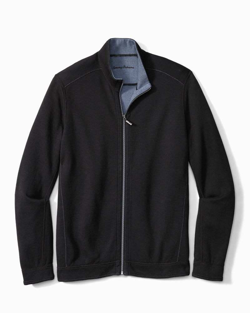 Big & Tall Flipshore Full-Zip Reversible Jacket