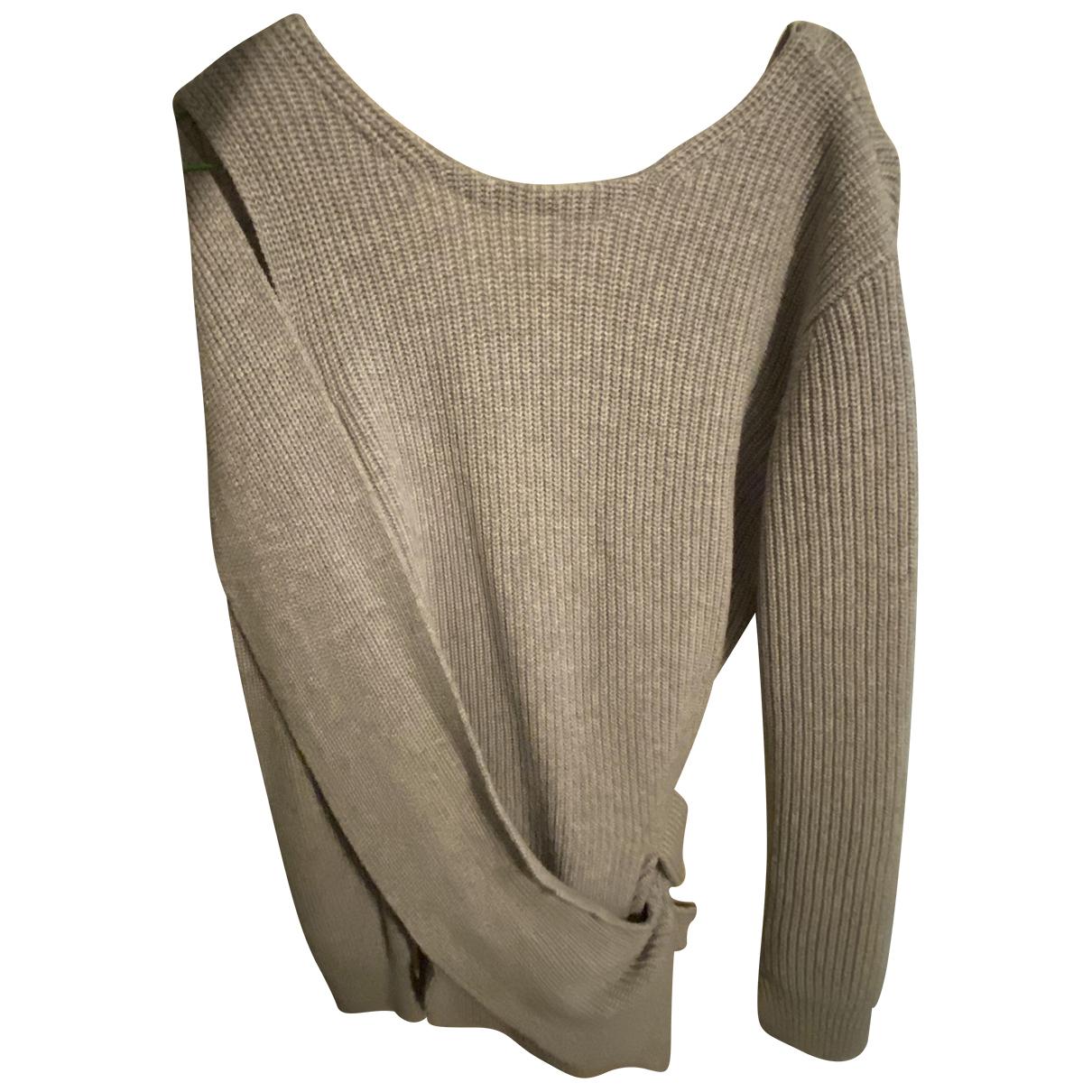 3.1 Phillip Lim - Pull   pour femme en laine - gris