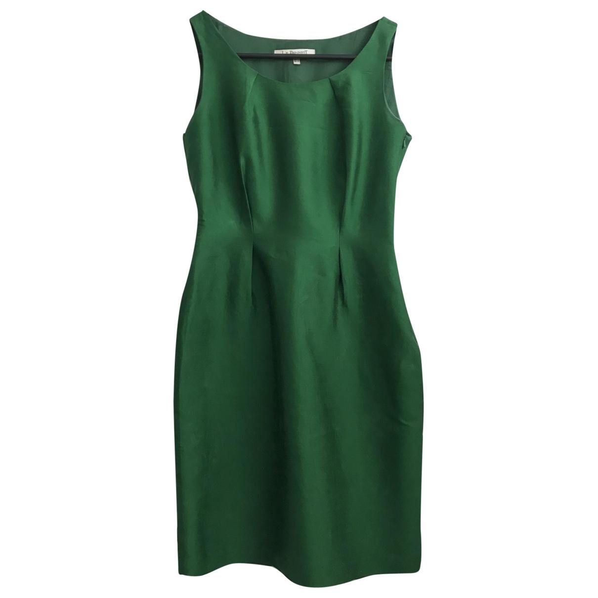 Lk Bennett \N Green Silk dress for Women 34 FR