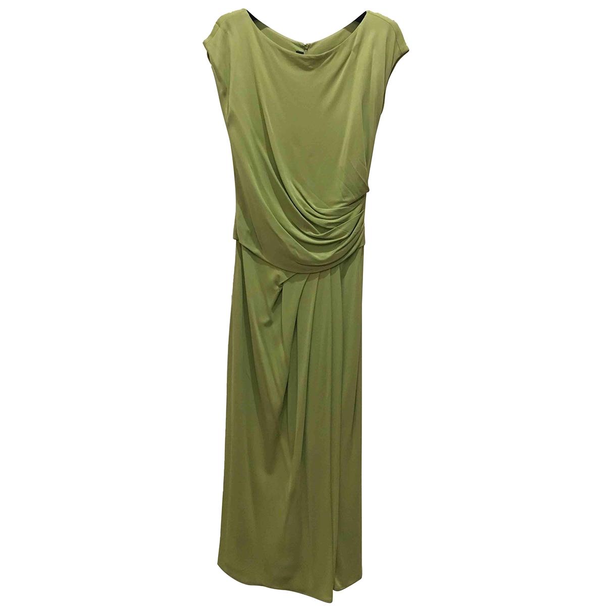 Elie Saab \N Kleid in  Gruen Viskose