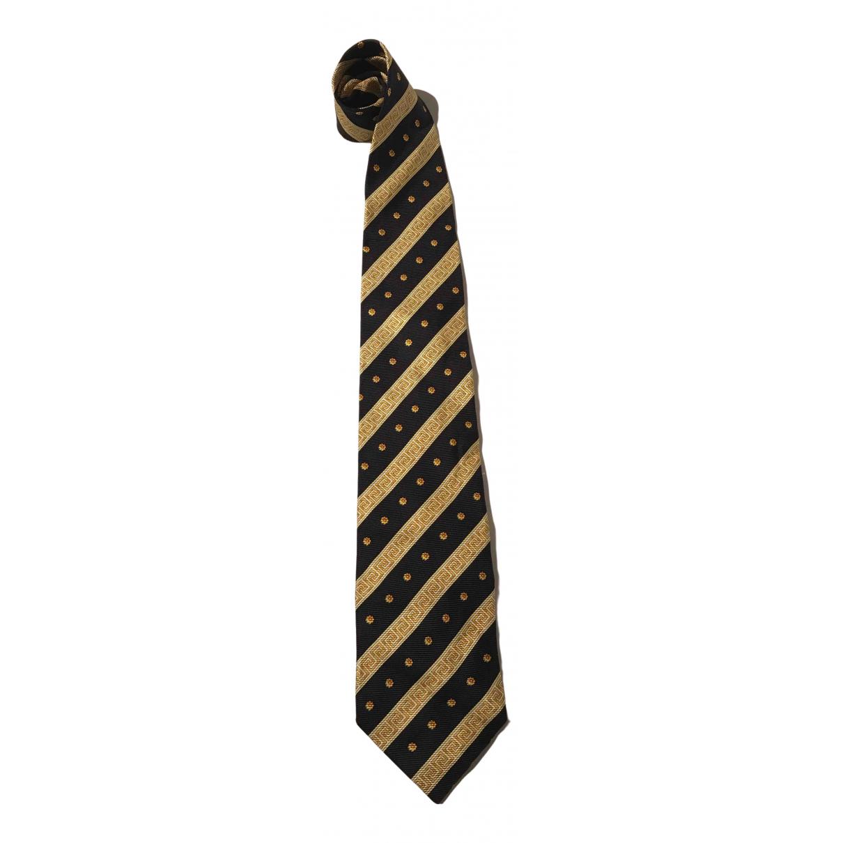 Versace \N Krawatten in  Bunt Seide
