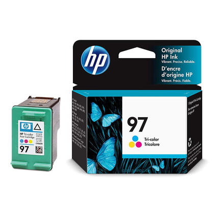 HP 96 97 C8767WN C9363W Original Black and Tricolor Ink Cartridge Combo