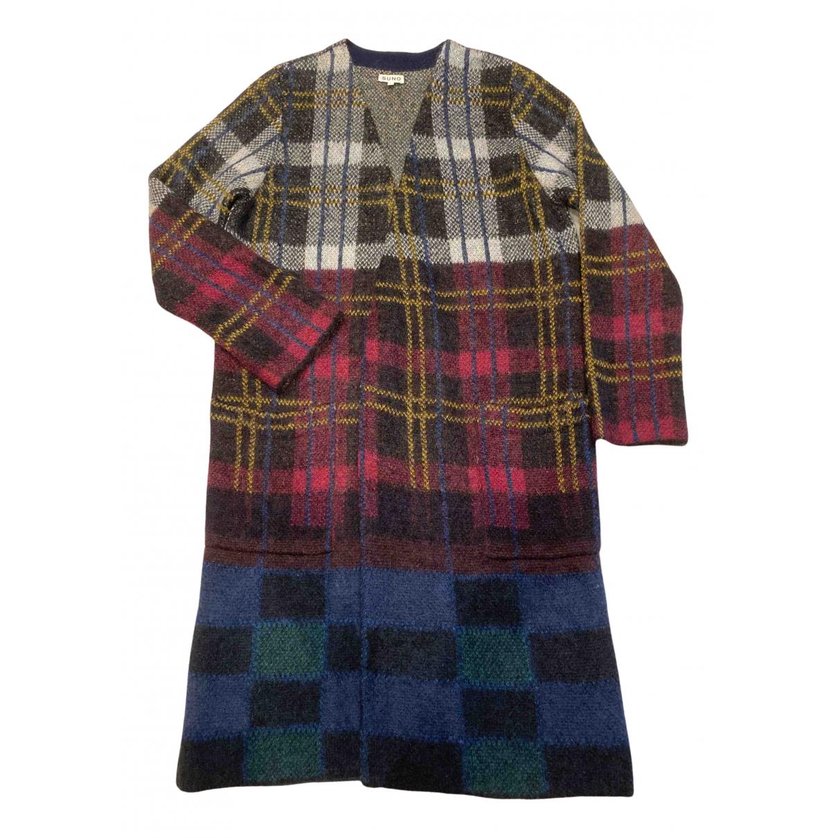 Suno - Pull   pour femme en laine - multicolore