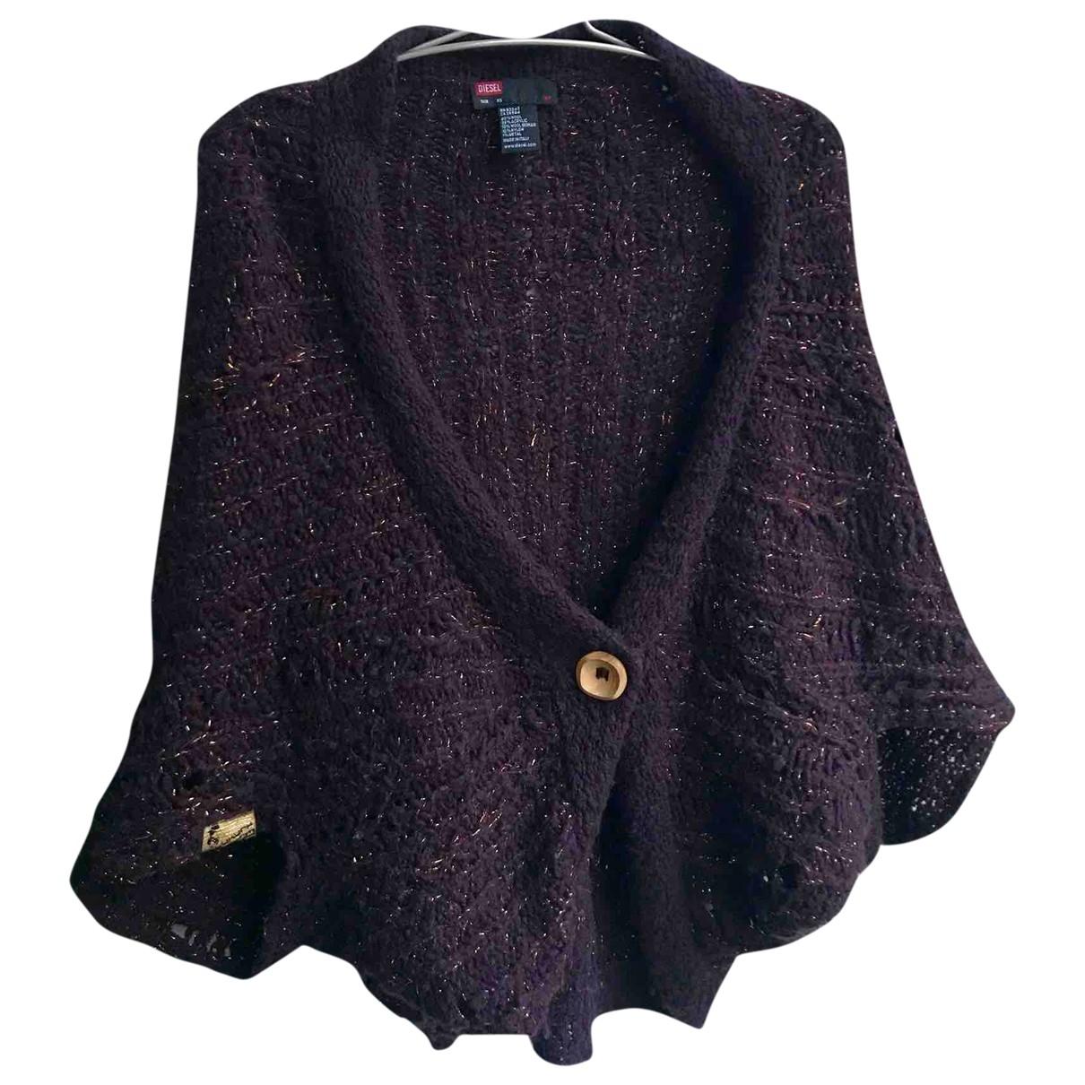 Diesel - Pull   pour femme en laine - violet