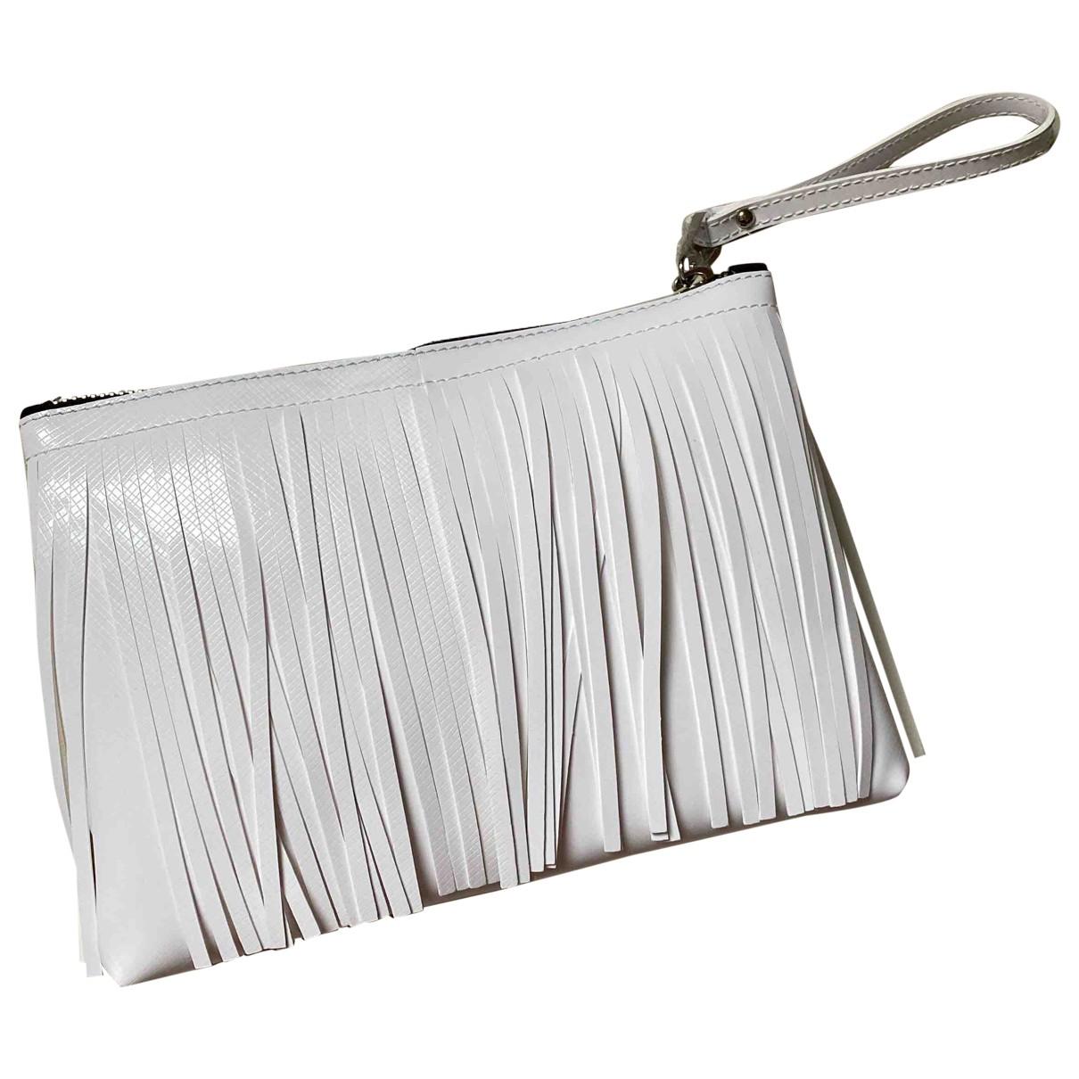 Gianni Chiarini \N White Patent leather Clutch bag for Women \N