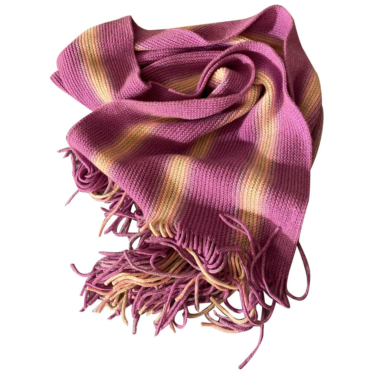 Ballantyne - Foulard   pour femme en cachemire - rose