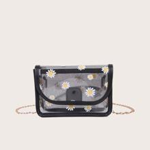 Daisy Clear Crossbody Bag