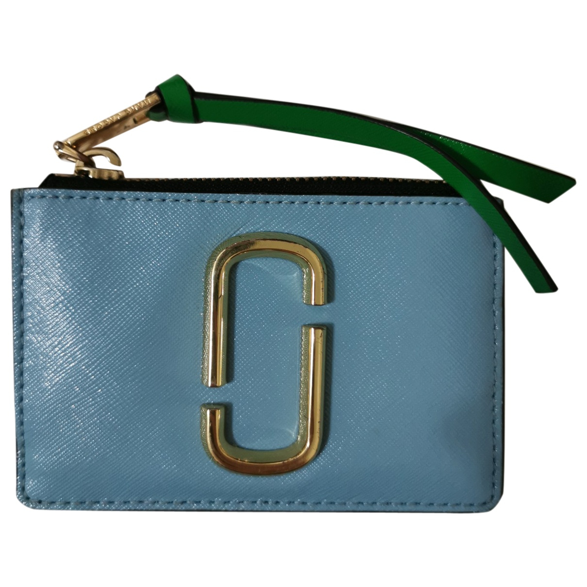 Marc Jacobs \N Blue Leather Purses, wallet & cases for Women \N