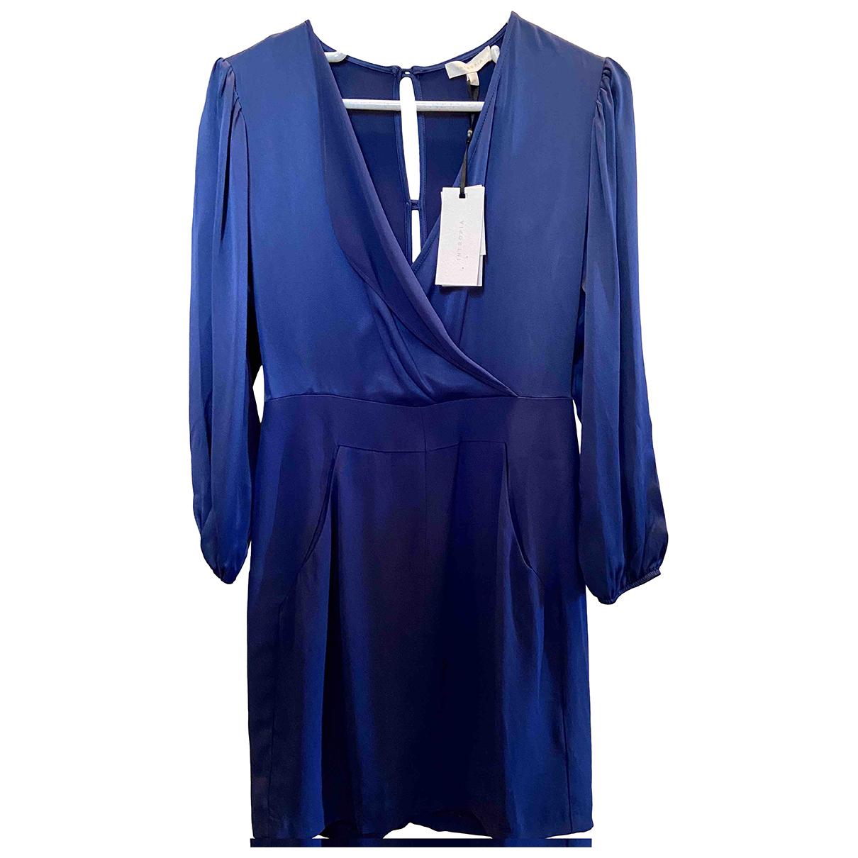 Hoss Intropia \N Kleid in  Blau Viskose