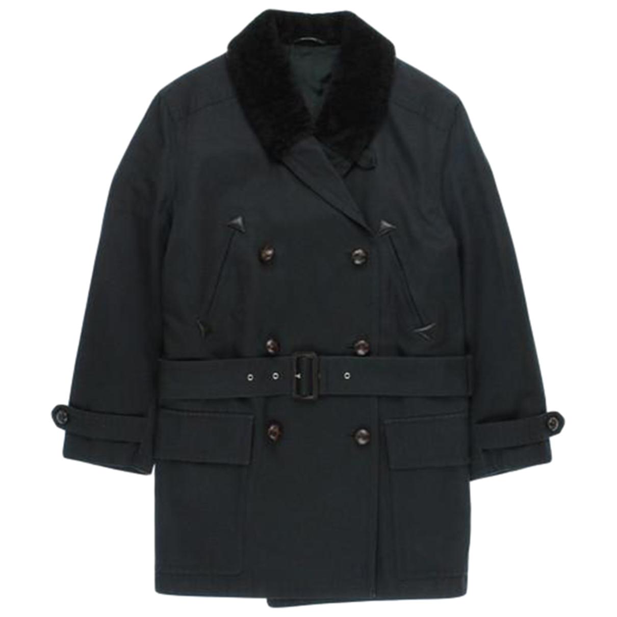 Hermès \N Black Cotton coat  for Men 50 FR