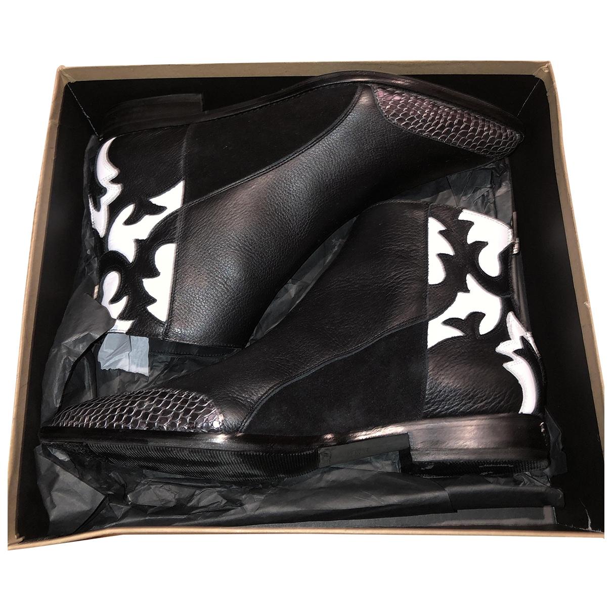 Zadig & Voltaire \N Stiefel in  Schwarz Leder