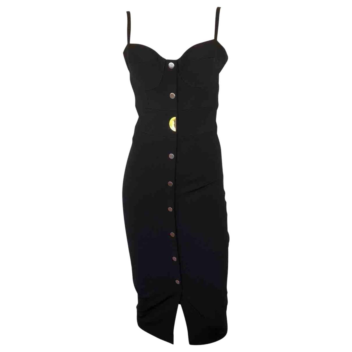 Cushnie Et Ochs \N Black Silk dress for Women 4 US