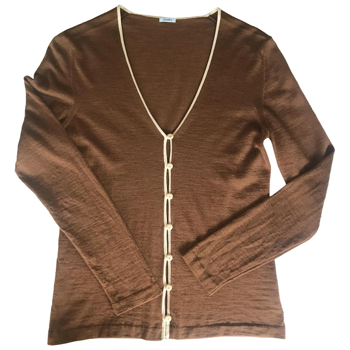 Malo \N Brown Cashmere Knitwear for Women 42 IT