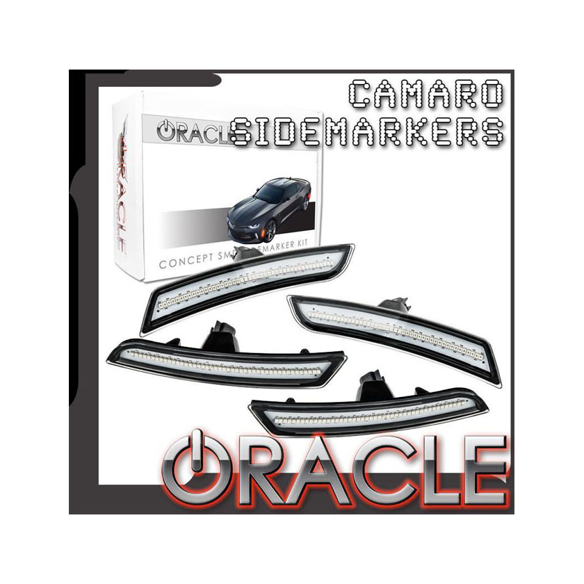 Oracle Lighting 9900-GKO-G Concept Sidemarker Set Ghosted Chevrolet Camaro 16-21