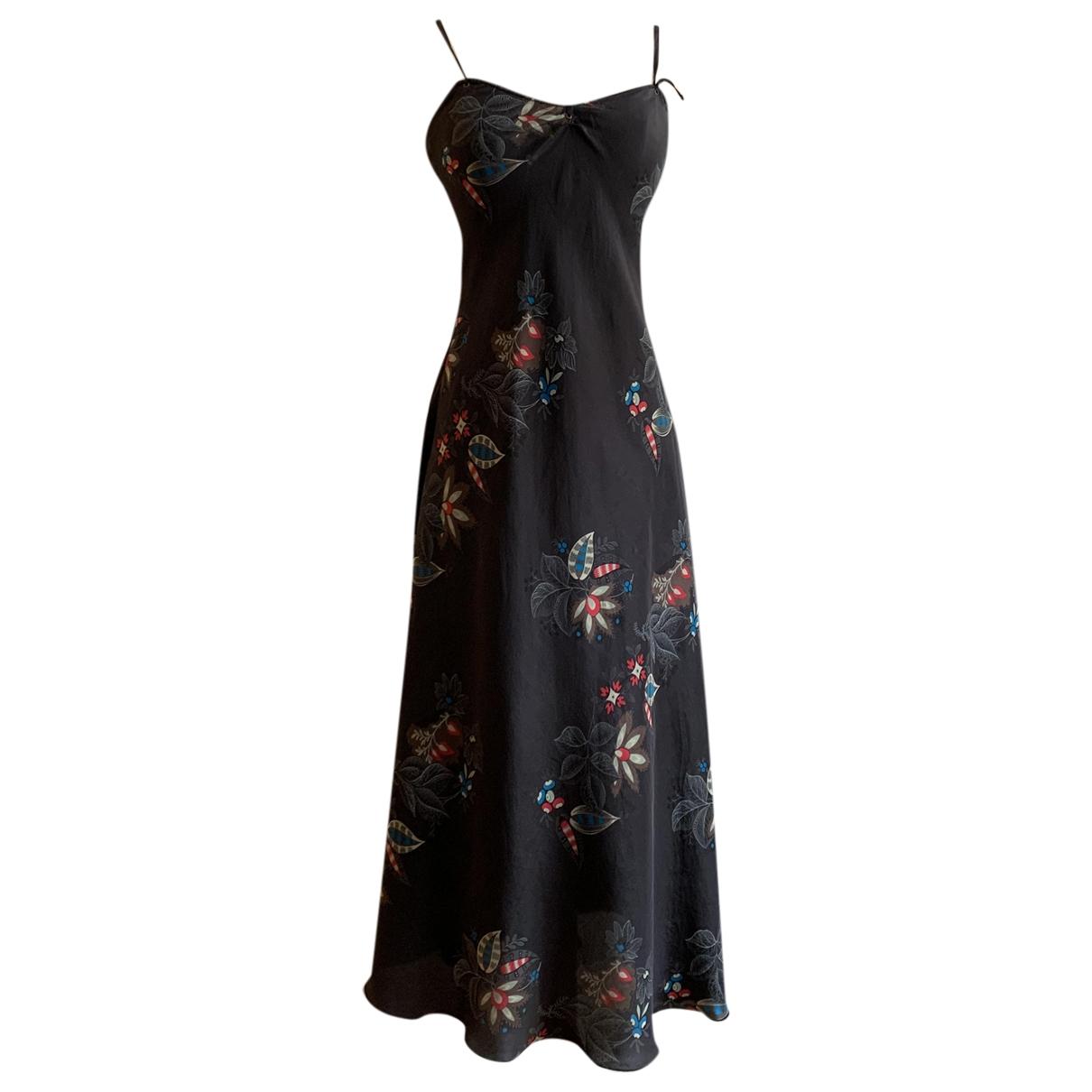 Armani Jeans \N Kleid in  Bunt Seide