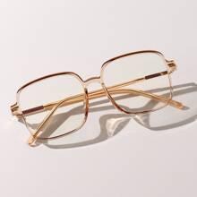 Anti Blaulicht Brille mit quadratischem Rahmen