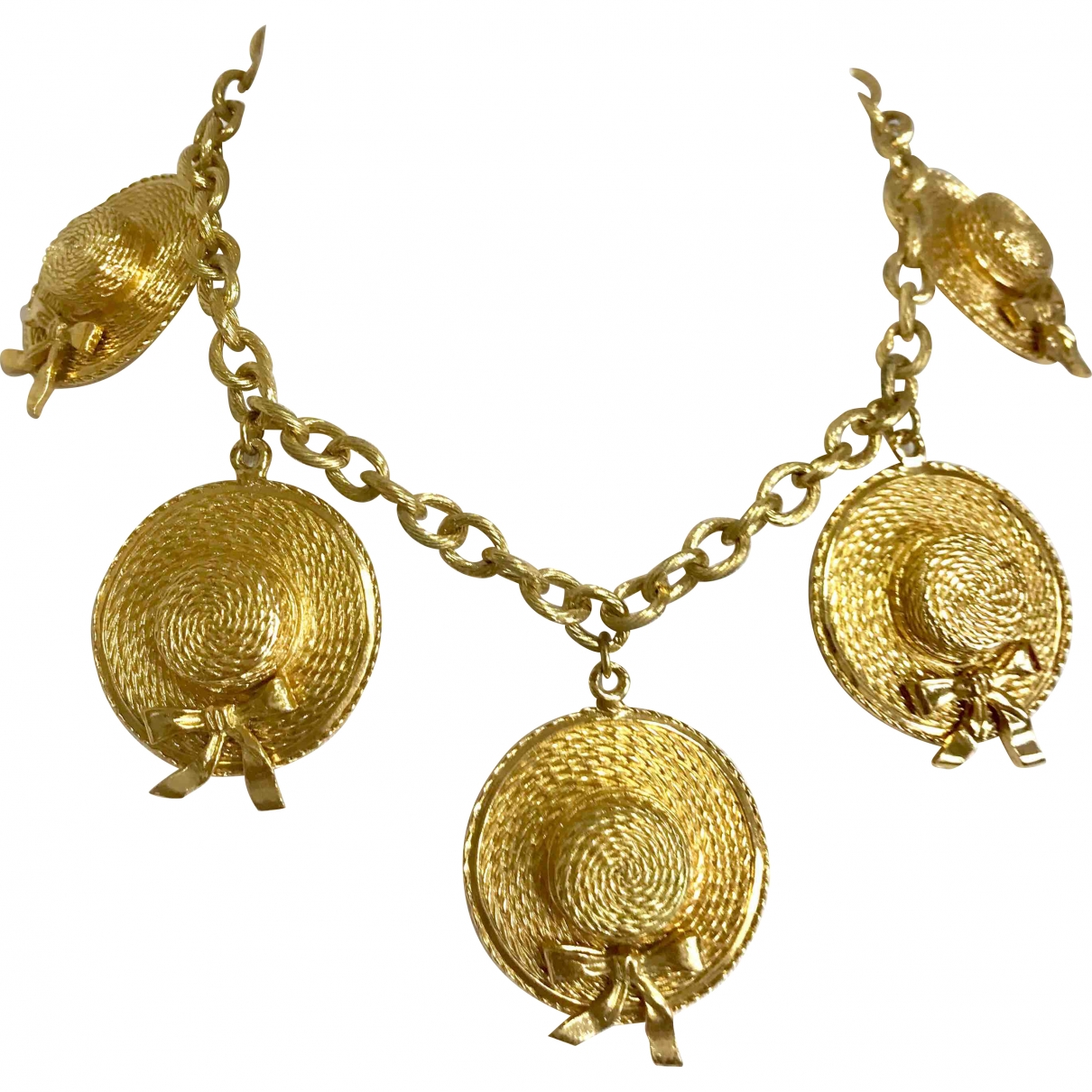 Chanel \N Gold Gold plated necklace for Women \N