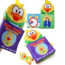 Baby Handpuppen Stoffbuch