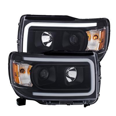 Anzo Projector Plank Style Headlights (Black) - 111381