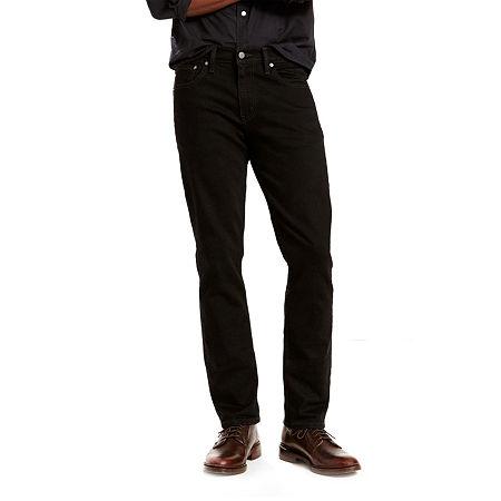 Levi's 511 Slim Mens 511 Slim Fit Jean, 36 30, Black