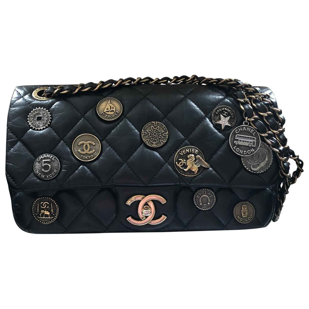 Bolso  Timeless/Classique de Cuero Chanel
