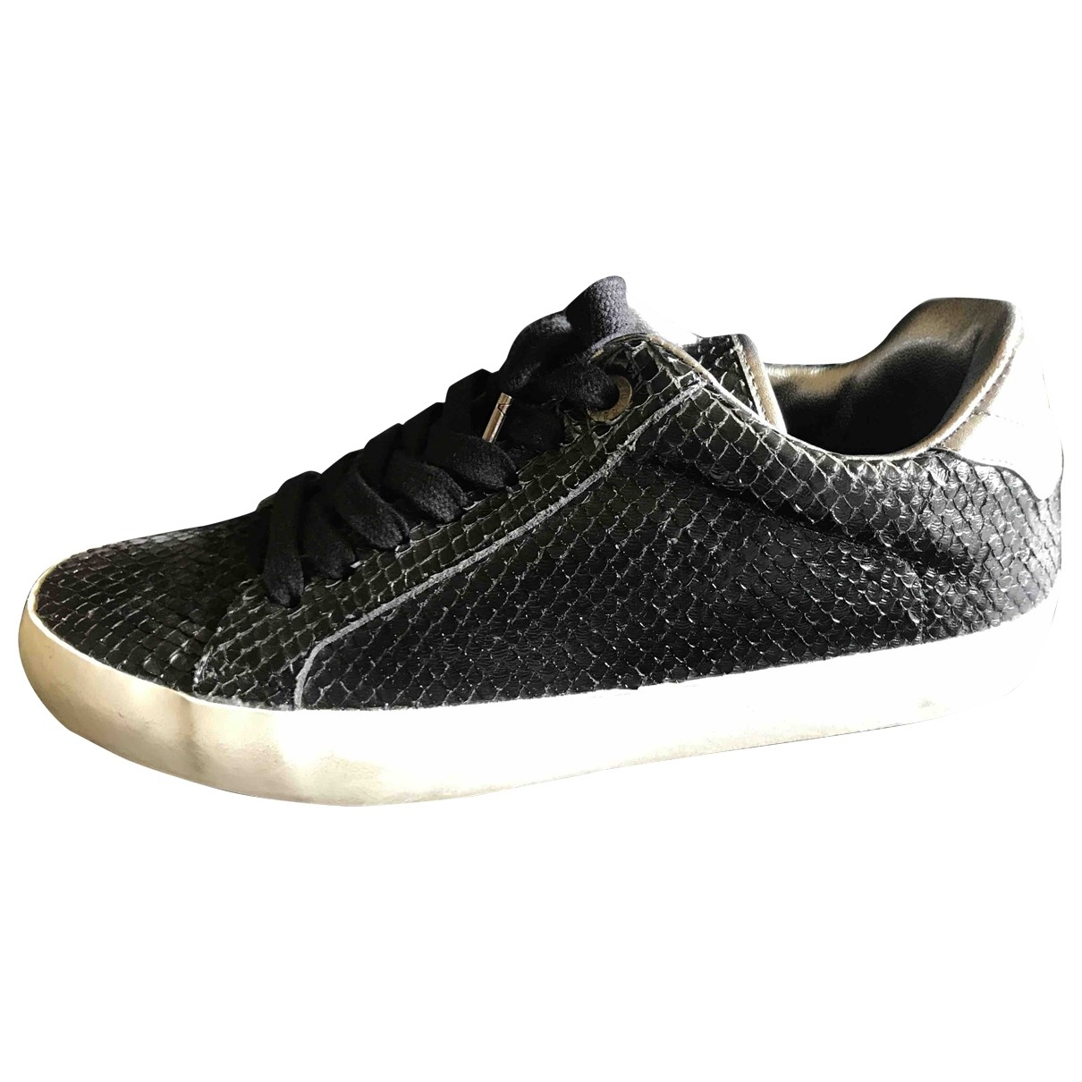 Zadig & Voltaire \N Black Exotic leathers Trainers for Women 39 EU