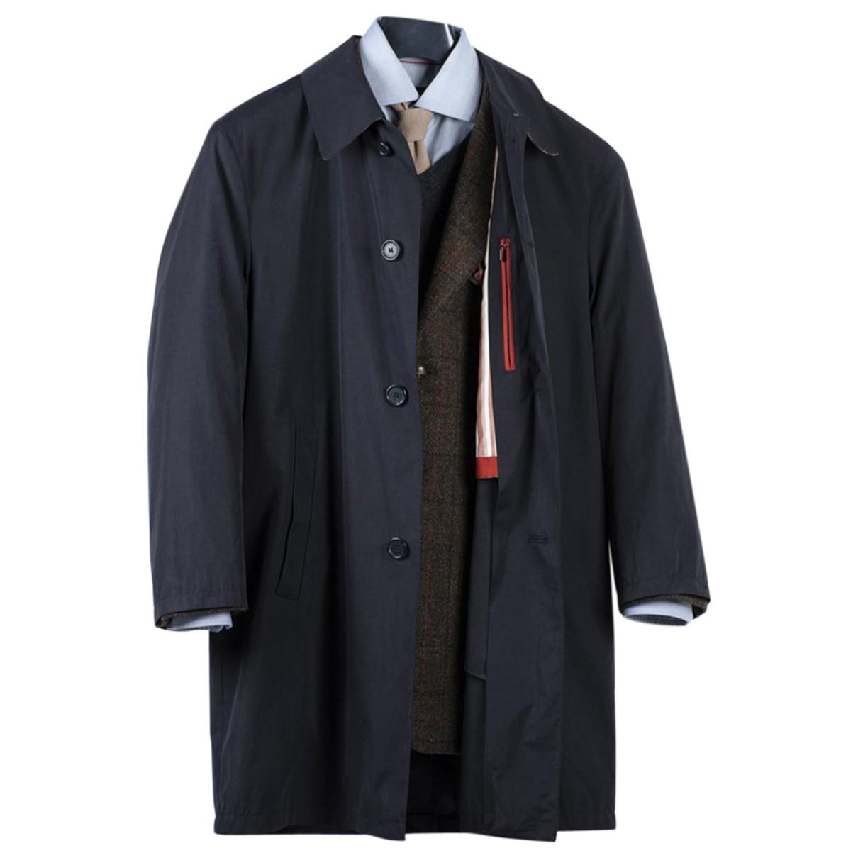 Daks - Manteau   pour homme en coton - marine
