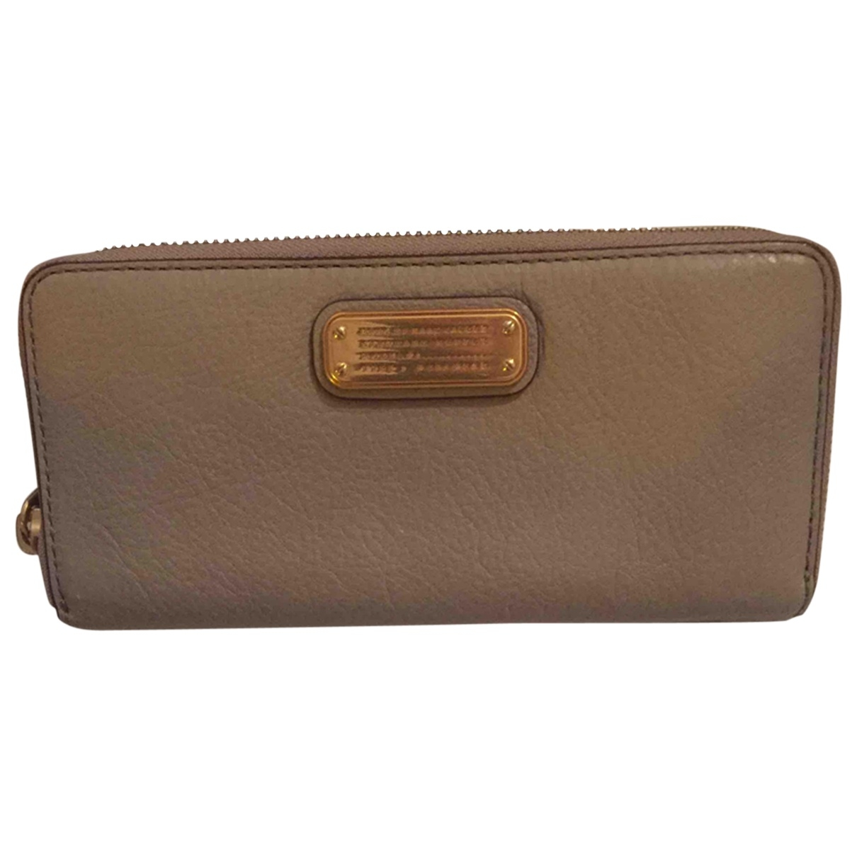 Marc By Marc Jacobs \N Beige Leather Purses, wallet & cases for Women \N