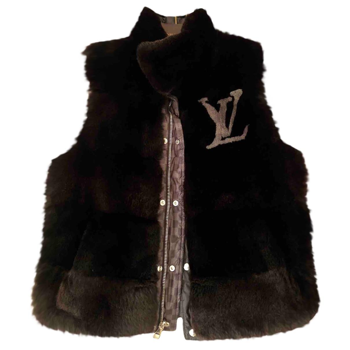 Louis Vuitton \N Black Rabbit jacket  for Men L International