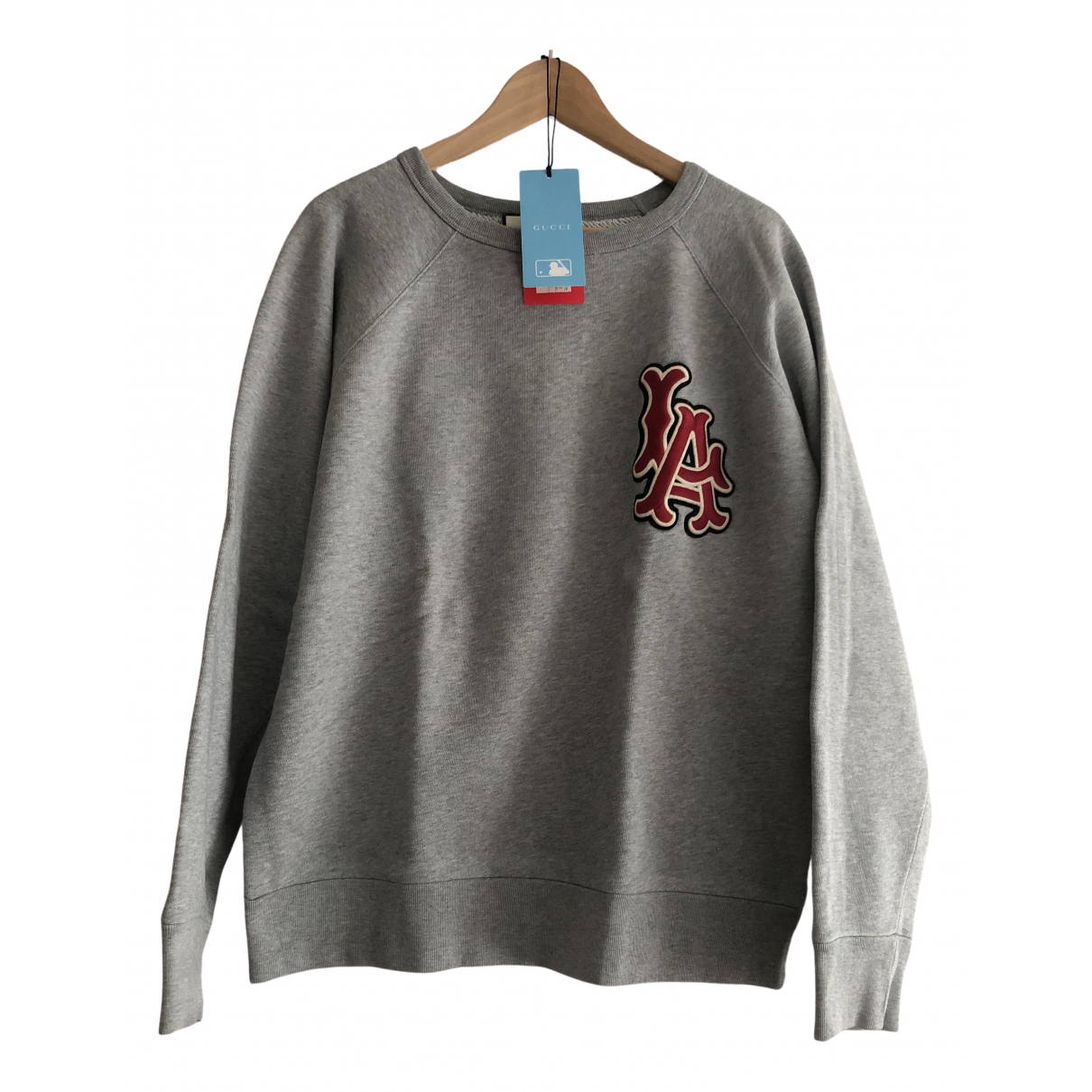 Gucci \N Grey Cotton Knitwear & Sweatshirts for Men M International