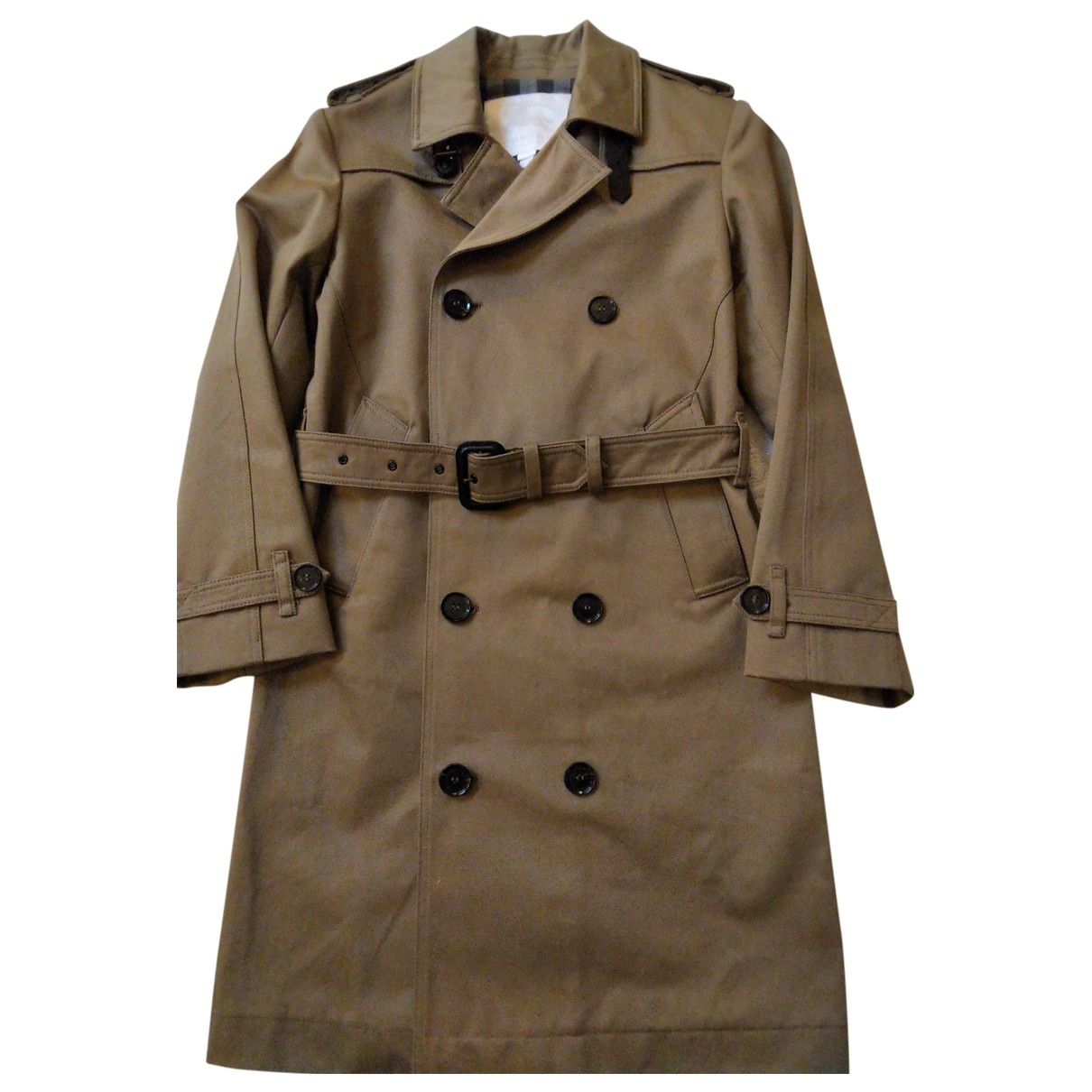 Burberry \N Brown Cotton jacket & coat for Kids 10 years - up to 142cm FR