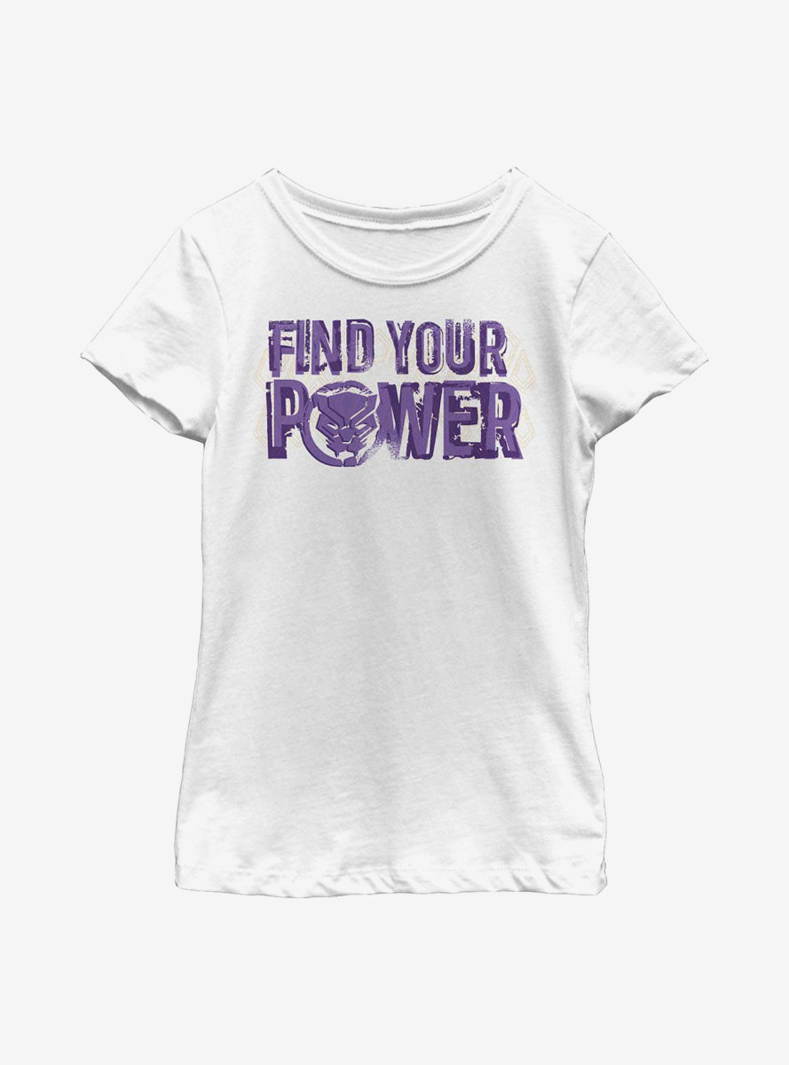 Marvel Black Panther Power Youth Girls T-Shirt
